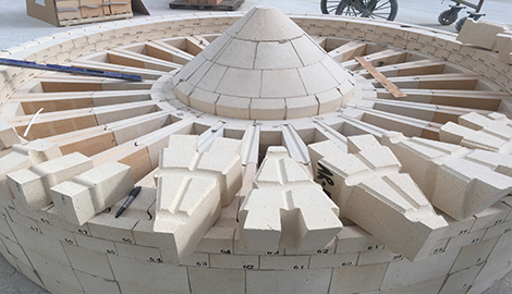 Wholesale High alumina refractory/fire-resistant brick for hot air furnace