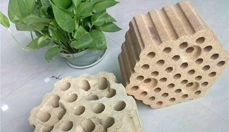 High alumina refractory checker brick