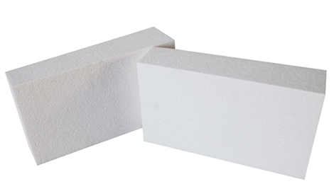 white high alumina bubble insulation refractory fire brick